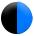 Noir - bleu