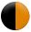 Noir - orange
